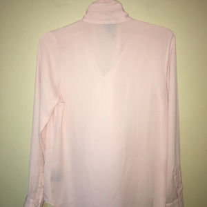 Who What Wear Tops - Who What Wear bow blouse